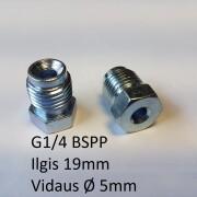 G1'4 bspp x19mm